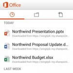 Microsoft Office for Office 365 Android app