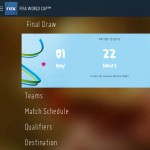 Official FIFA Android app - World Cup draw