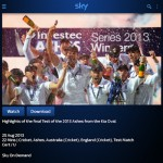 Sky Go Tablet Android app