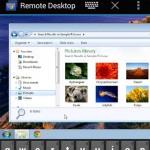 Chrome Remote Desktop Android app