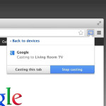 Google Cast (beta) Chrome extension