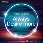 HTC CES 2015 - new Desire smartphones