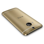 HTC One M9+ in gold (rear)