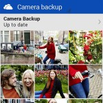 Microsoft OneDrive Android app - Camera backup