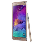 Samsung Galaxy Note 4 - gold colour