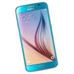 Samsung Galaxy S6 (front) - Blue Topaz