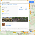 Google Maps desktop - new Send to device feature