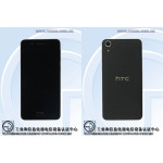 HTC Desire 728 - images from TENAA (front, rear)