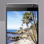 HTC One E9+ - front (grey)