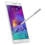 Samsung Galaxy Note 4 with stylus (white)
