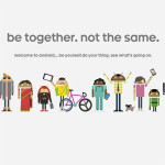 Android website - be together. not the same.