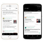 Medium Android app - collections