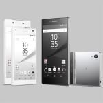 Sony Xperia Z5, Sony Xperia Z5 Premium and Sony Xperia Z5 Compact