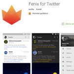 Fenix for Twitter - Android app