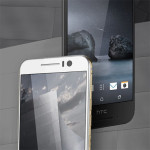 HTC One S9 - white and black