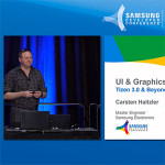 Samsung Developer Conference 2016 - Tizen 3.0 UI & graphics presentation