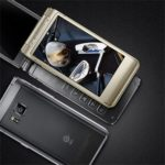 Samsung SM-W2016 - black and gold