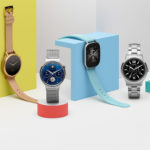Four Android Wear smartwatches