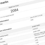HTC Nexus Marlin, listed as Google Marlin, Geekbench single-core score