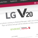 LG V20 with Android 7.0 Nougat