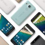 Nexus 5X & Nexus 6P smartphones - assorted colours