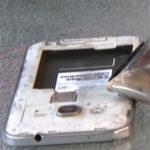 Samsung Galaxy Note7 battery fire