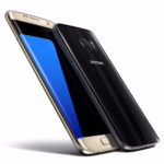 Samsung Galaxy S7 Edge - Gold Platinum / Samsung Galaxy S7 - Black Onyx