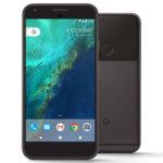 Google Pixel XL - Quite Black - front & back
