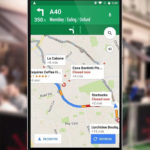Google Maps Android app - driving directions