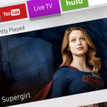 Samsung Smart View app - Supergirl