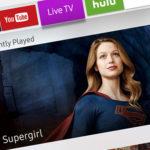 Samsung Smart View app - Supergirl