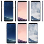 Samsung Galaxy S8 and Samsung Galaxy S8 Plus - Black Sky, Orchid Grey and Arctic Silver