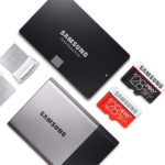 Samsung flash memory