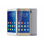 Honor 7 China release - white, gold and silver