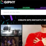 GIPHY website