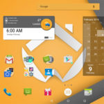 ADW Launcher 2 - tablet view